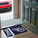 TENNESSEE TITANS FOOTBALL UNIFORM RUG JERSEY GAME MAT