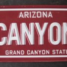 1982 POST CEREAL BICYCLE STATE LICENSE PLATE ARIZONA