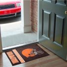 CLEVELAND BROWNS UNIFORM RUG JERSEY MAT NEW FREE SHIP