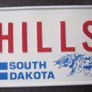1982 CEREAL BICYCLE STATE LICENSE PLATE SOUTH DAKOTA