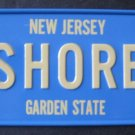 1982 CEREAL BOX BICYCLE STATE LICENSE PLATE NEW JERSEY