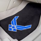 USAF US AIR FORCE AIM HIGH AUTO RUG CAR MATS FREE SHIP