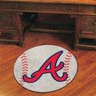 ATLANTA BRAVES MLB BASEBALL TEAM RUG GAME MAT FREE SHIP