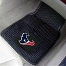 HOUSTON TEXANS NFL FOOTBALL CAR MATS GAME RUG FREE SHIP