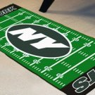 NY NEW YORK JETS NFL TEAM FIELD RUG GAME MAT FREE SHIP