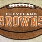 CLEVELAND BROWNS FOOTBALL TEAM RUG GAME MAT FREE SHIP