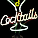 MARTINI GLASS COCKTAIL NEON LIGHT BAR SIGN (262007)