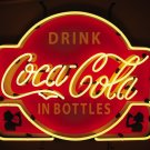 COCA COLA SODA POP COKE BOTTLE NEON BAR SIGN FREE SHIP