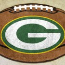 GREEN BAY PACKERS FOOTBALL TEAM RUG GAME MAT FREE SHIP