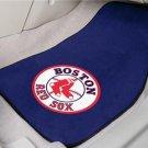 BOSTON RED SOX TRUCK AUTO CAR MATS GAME RUG FREE SHIP