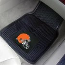 CLEVELAND BROWNS CAR MATS TRUCK AUTO GAME RUG FREE SHIP