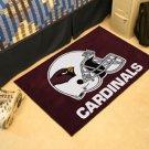 ARIZONA CARDINALS NFL FOOTBALL TEAM HELMET RUG GAME MAT