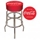 DELICIOUS REFRESHING COCA COLA BAR STOOL COKE SEAT NEW