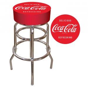 DELICIOUS REFRESHING COCA COLA BAR STOOL COKE SEAT NEW