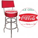 DRINK ICE COLD COCA COLA CHAIR COKE BAR STOOL PUB SEAT