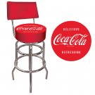 DELICIOUS REFRESHING COCA COLA SEAT COKE BAR STOOL NEW