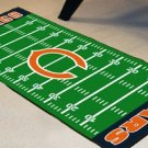 CHICAGO BEARS NFL FOOTBALL FIELD RUG GAME MAT FREE SHIP