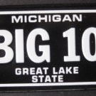 1982 POST CEREAL BICYCLE STATE LICENSE PLATE MICHIGAN