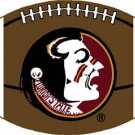 FLORIDA STATE SEMINOLES FSU FOOTBALL RUG MAT WOVEN 6 FT