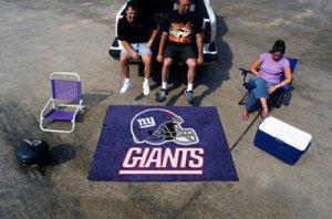 NEW YORK GIANTS NFL FOOTBALL TEAM GAME RUG TAILGATE MAT