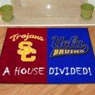 SOUTHERN CALIFORNIA TROJANS USC VS UCLA BRUINS RUG MAT