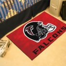 ATLANTA FALCONS NFL FOOTBALL TEAM HELMET RUG GAME MAT