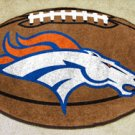 DENVER BRONCOS NFL FOOTBALL TEAM RUG GAME MAT FREE SHIP
