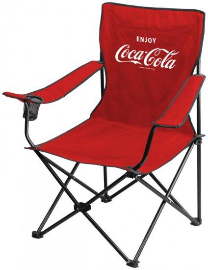 COCA COLA COKE BOTTLE LOGO FOLDING CAMPING CHAIR SEAT