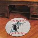 FLORIDA MARLINS MLB BASEBALL RUG GAME MAT NEW FREE SHIP