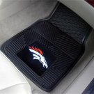 DENVER BRONCOS NFL FOOTBALL CAR MATS GAME RUG FREE SHIP