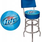 MILLER LITE BEER BAR STOOL BACK CHAIR SEAT FREE SHIP