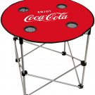 Enjoy Coca Cola Coke Bottle Logo Folding Camping Table