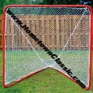 LAX PLAYER STEEL LACROSSE BALL GOAL NET 6 FT FREE SHIP