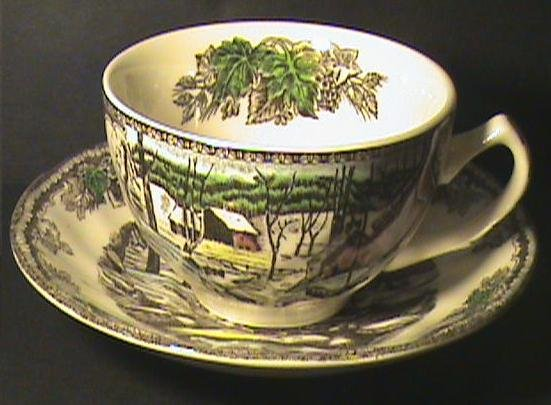 Johnson Brothers Friendly Village Tea Cup Saucer Set