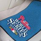 PHILADELPHIA PHILLIES WORLD SERIES AUTO RUG CAR MATS