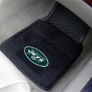 NY NEW YORK JETS  FOOTBALL CAR MATS GAME RUG FREE SHIP