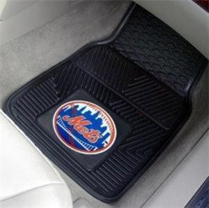 NY NEW YORK METS AUTO TRUCK CAR MATS GAME RUG FREE SHIP