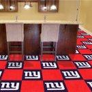 NY NEW YORK GIANTS FOOTBALL CARPET GAME RUG FLOOR TILES