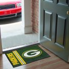 GREEN BAY PACKERS UNIFORM RUG JERSEY MAT NEW FREE SHIP