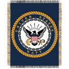 UNITED STATES NAVY BLANKET THROW WALL ART FREE SHIPPING