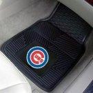 CHICAGO CUBS BASEBALL TRUCK CAR MATS GAME RUG FREE SHIP