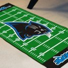 CAROLINA PANTHERS NFL FOOTBALL TEAM FIELD RUG GAME MAT