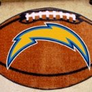 SAN DIEGO CHARGERS FOOTBALL TEAM RUG GAME MAT FREE SHIP