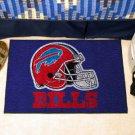 BUFFALO BILLS NFL FOOTBALL TEAM HELMET RUG GAME MAT NEW
