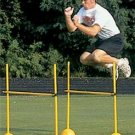 Sprint Running Jumping Fitness Exercise Crossfit Workout Agility Track Hurdles 4