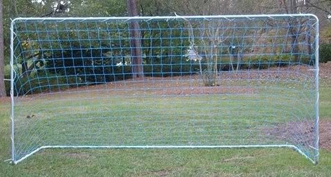 Sports Team Player Steel Soccer Goal Net 12' Free Shipping