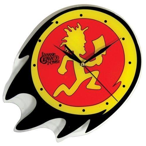 ICP Insane Clown Posse Rock Band Concert Hatchetman Glass Clock