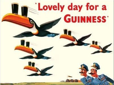 Lovely Day For A Guinness Beer Irish Pub Tin Bar Sign