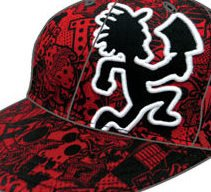 Insane Clown Posse ICP Concert Hatchetman Hat Cap Red