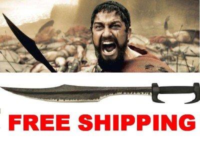 Authentic Leonidas Spartan Warrior 300 Movie War Gladiator Sword